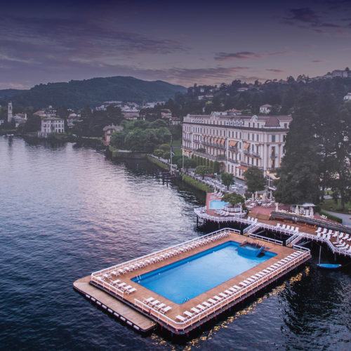 Villa d'Este Lake Como swimming pool