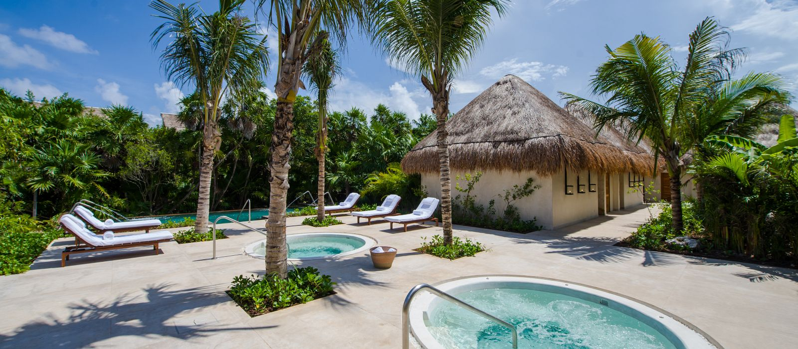 Chable Maroma Mexico jacuzzi
